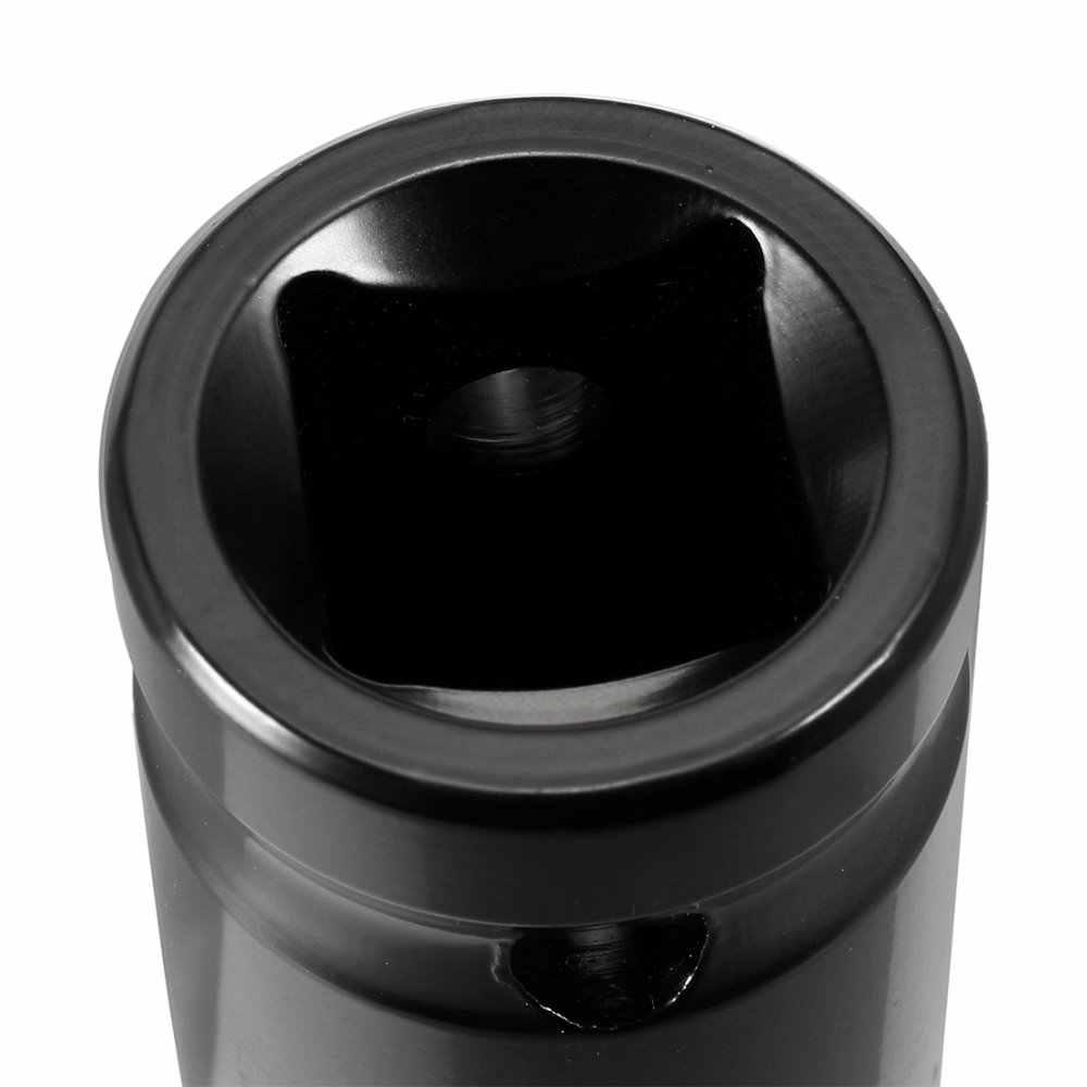 Cr-V Steel 1//2-inch Drive 15mm 6-Point Deep Impact Socket
