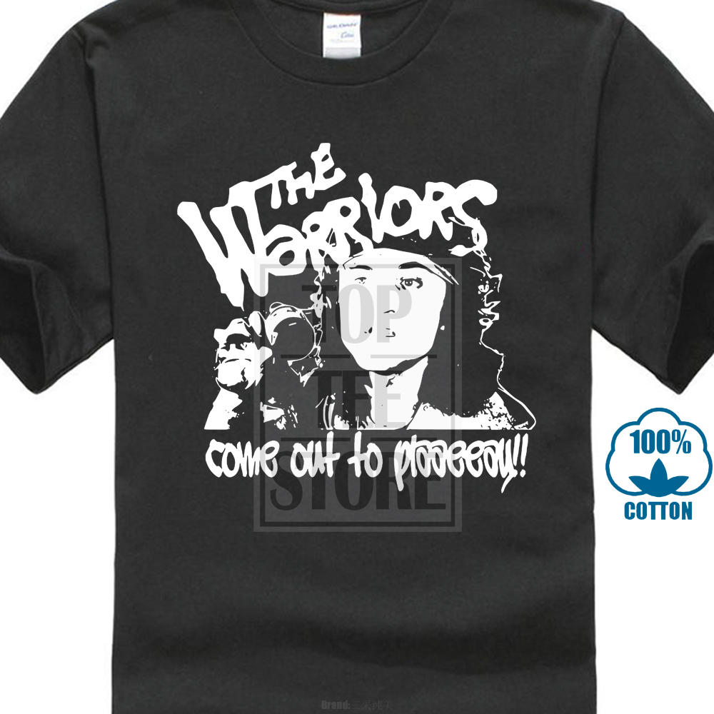 2017 New The Warriors Come Out To Play T Shirt Cult Gang Film 70s