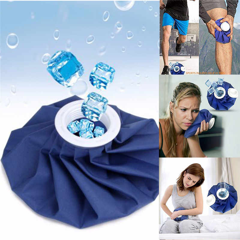 Medical Cooling Cloth Ice Bag Reusable Ice Bag Hot Cold Injury First Aid Pain Relief Health Care Cold Therapy Ice Pack &