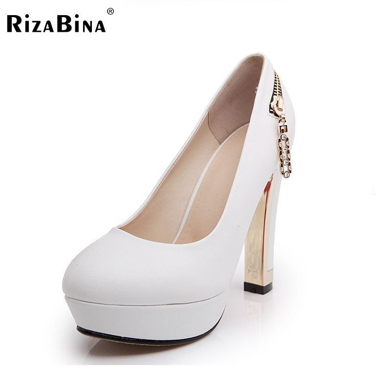 women high heel shoes stiletto pointed toe platform quality footwear brand fashion heeled pumps heels shoes size 34-39 P17426 targus awe55eu black