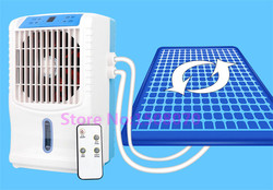 Free shipping Summer cooling small air conditioning fan water circulation cooling mattress double air water cooling mattress