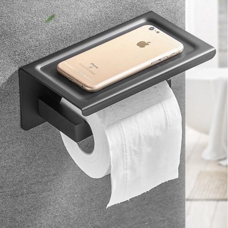 Bulk Toilet Paper >> Us 30 38 39 Off Bulk Sale Toilet Paper Holder Stainless Steel Bathroom Accessories Tissue Holder Toilet Roll Holder With Phone Storage In Paper