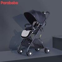 Свет коляска для детей черный складной Детские коляски модные фиолетовый Китай коляска для девочек карман коляска Красивая коляска