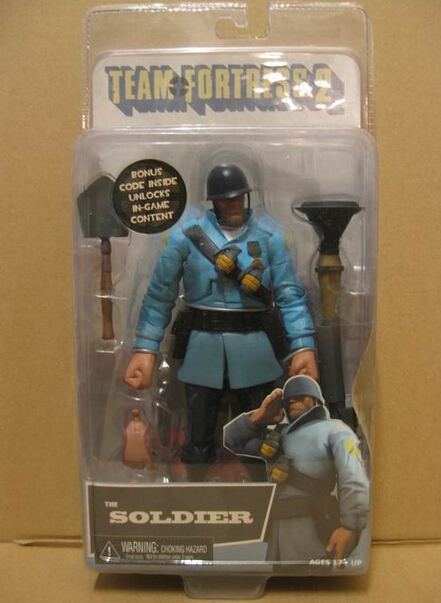 neca team fortress 2 the soldier 7 u0026quot  team fortress 2 game
