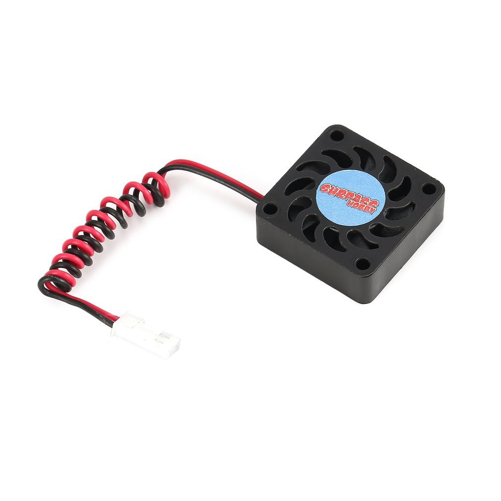 SURPASSHOBBY 21000 <font><b>RPM</b></font> Cooling Fan Motor Heat Dissipation for Brushless Motor 540 RC Car Accessory Spare Parts image