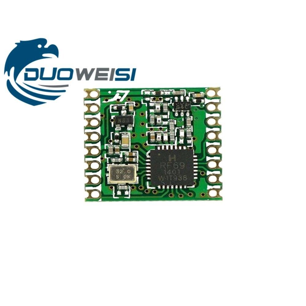 RFM69HC RFM69HCW  RFM69H CW FSK Wireless Transceiver Module SX1231 433  915M 16 * 16mm