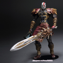 """High Quality NECA God of War 2 II Kratos in Ares Armor W Blades 7"""" PVC Action Figure Toy Doll Chritmas Gift"""