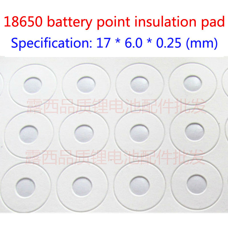 Купить с кэшбэком 100pcs/lot 18650 battery can disassemble the battery cap 18650 spot pointed pointed cap special positive group