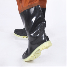1mm New Waterproof Fabric Breathable Chest Waders Fishing Men Women respirant Boots Black Fishing Pants cuissardes peche Shoes