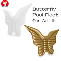 Giant Inflatable Butterfly Pool Floats for Adult Pool Toy Inflatable Air Mattress Water Beach Pool Party Swimming Ring for Women