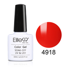 Elite99 10ml Macaron Color UV Gel Varnish Quick  Drying Soak Off Nail Art Manicure Gel Lacquer Semi Permanent Nail Gel Polish