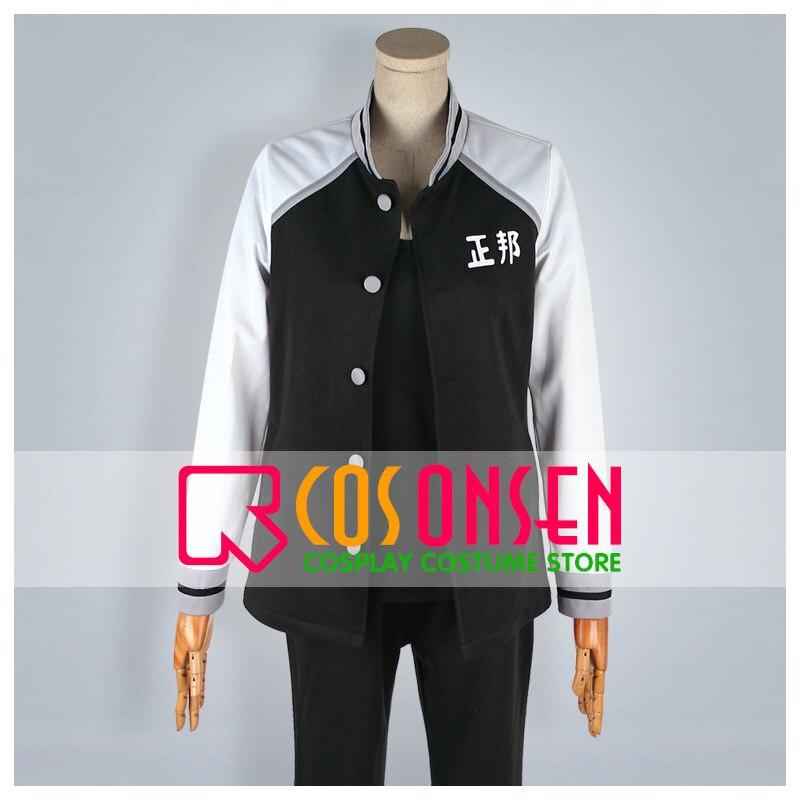 COSPLAYONSEN Kuroko's Basketball Seiho High Sportswear Ryuhei Kasuga Cosplay Costume All Size