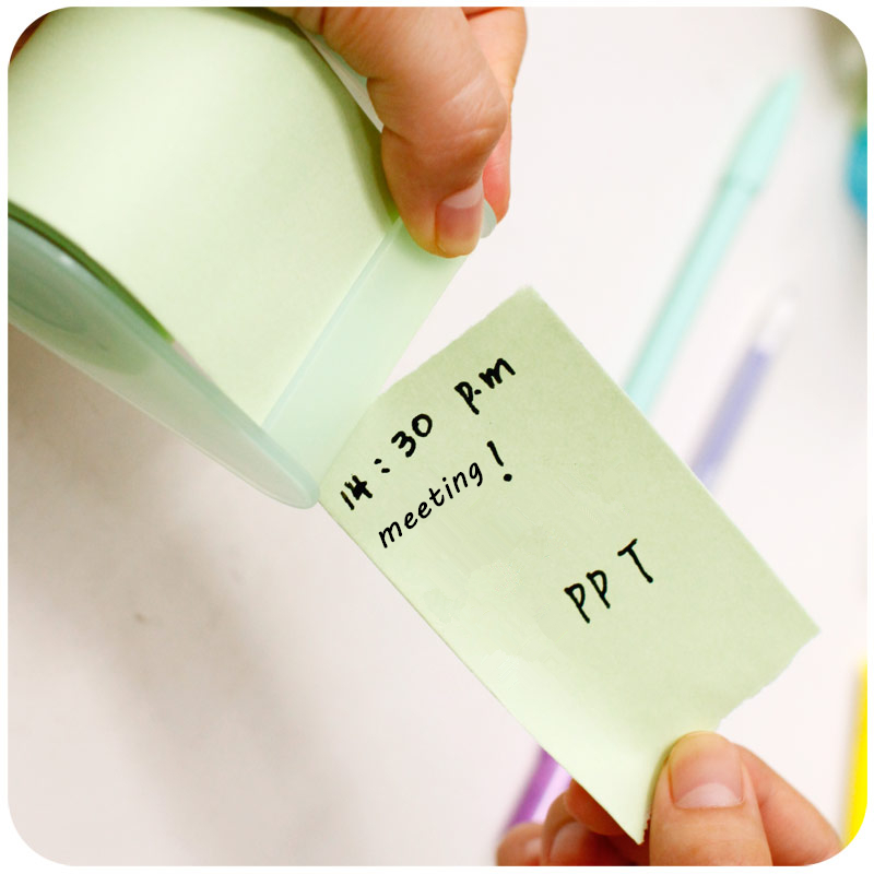 Creative Cute Notes Paper  with Tape Seat, Xpress Convenience Stickers 4