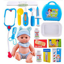 1 Set Doctor Medical Kit Pretend Play Toys For Doctor Play Set Children's Pretend Play Medical Kit Toys For Girls Children Gifts