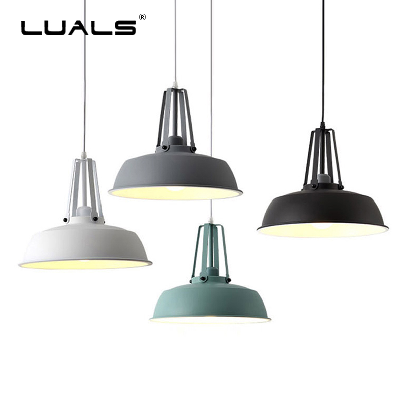 Nordic Hanging Lamp Industrial Style Pending Lighting Iron Retro Lamp Suspension Luminaire Led Pendant Light Indoor Art LightingNordic Hanging Lamp Industrial Style Pending Lighting Iron Retro Lamp Suspension Luminaire Led Pendant Light Indoor Art Lighting
