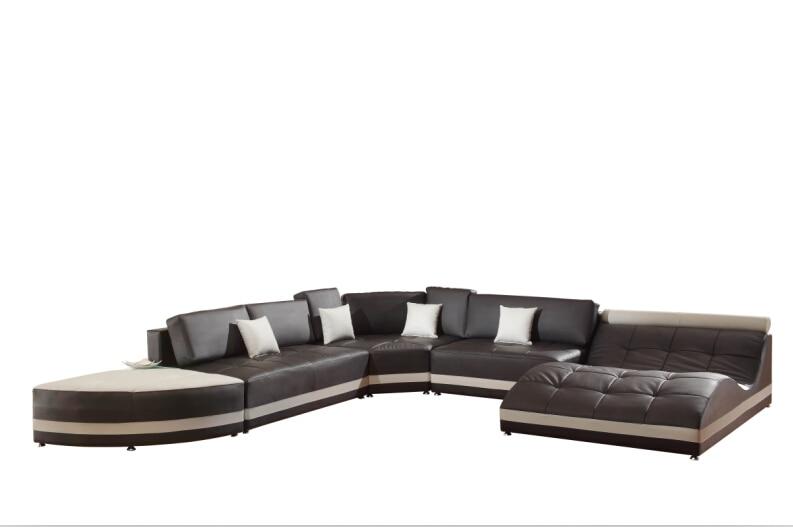 Divani moderni divani angolari per divano in pelle italiana ...