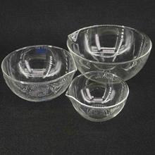 60/90 мм Диаметр лабораторное стекло Испаряющее блюдо плоское дно с носиком для химической лаборатории