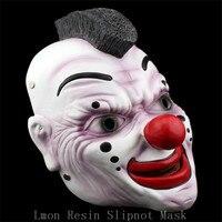 High Quality Slipknot Mask Clown Funny Devil Head Scary Halloween Mask Cosplay Prank Resin Home Decor