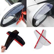 Universal Car Accessories Rearview Mirror Rain eyebrow Rain Cover for Renault CLIO CAPTUR Megane Koleos FLUENCE Talisman FRENDZY