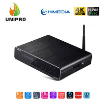 "Himedia Q10 Pro HDR Hi3798CV200 4 K 2G/16G TV BOX Dolby 802.11AC WIFI 1000 M LAN DTS-HD 3.5 ""SATA HDD Reproductor Multimedia Bluetooth"