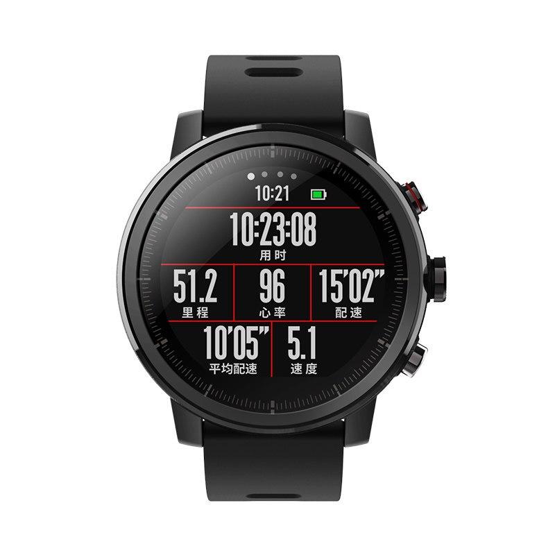 グローバル版オリジナル Xiaomi Huami Amazfit · ストラトス 2 スマート腕時計スポーツ GPS 5ATM 水 2.5D GPS Firstbeat 水泳スマートウォッチ  グループ上の 家電製品 からの スマートウォッチ の中 2