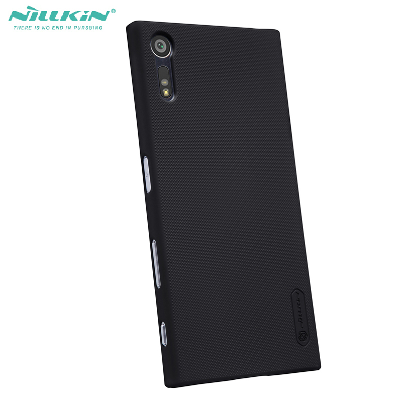 Nillkin Frosted Hard PC Anti-Knock Cover Case For Sony Xperia XZ XZS Defend casesNillkin Frosted Hard PC Anti-Knock Cover Case For Sony Xperia XZ XZS Defend cases
