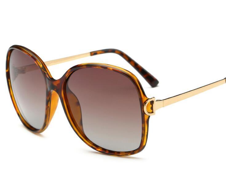1c73193008a3b Nova Marca Big Quadro das Mulheres Óculos Polarizados Óculos de Sol Da Moda  Óculos de Marca Óculos de Sol Óculos de Sombra