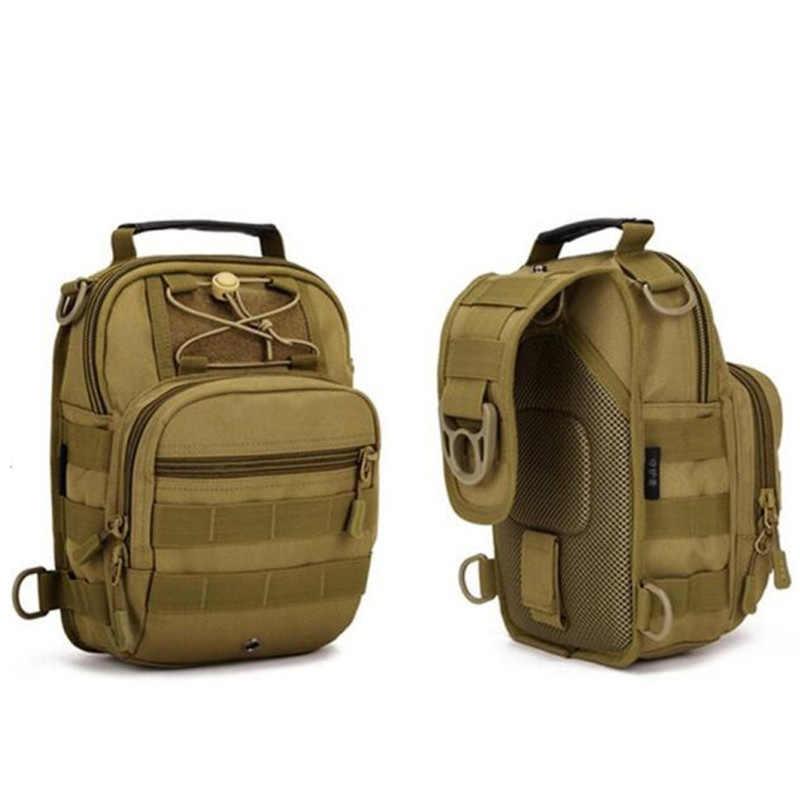 Bolso de nailon militar para hombre, bolso de hombro para hombre, impermeable, multifunción, bolso de viaje para hombre, bolsa de mensajero para el pecho