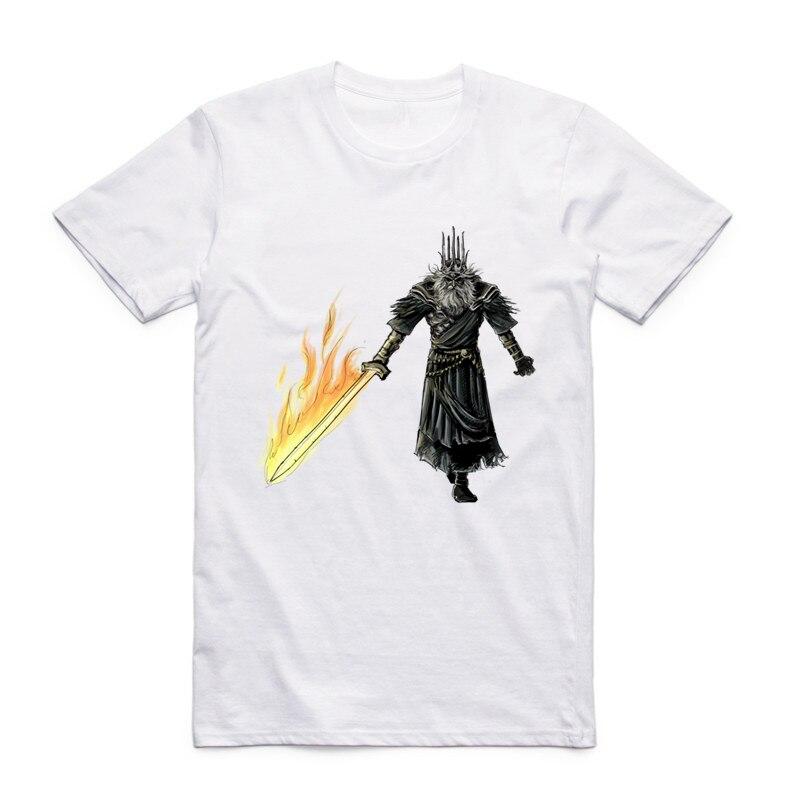 S-XXXL Camiseta Dark Souls para hombre friki Camiseta de manga corta - Ropa de hombre - foto 2