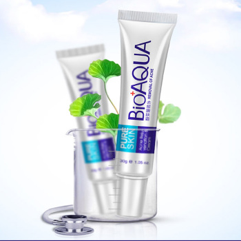 BIOAQUA Treatment Remove Anti Acne Facial Cream Shrink Pores Oil Control Moisturizing Men/Women Face Skin Care Free Shipping