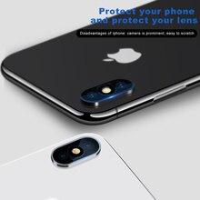 3PCS Back Len Protector Film For iPhone X XR XS Max 7 8 Plus Protective Camera Lens Glass For iPhoneX iPhoneXS Max iPhoneXR