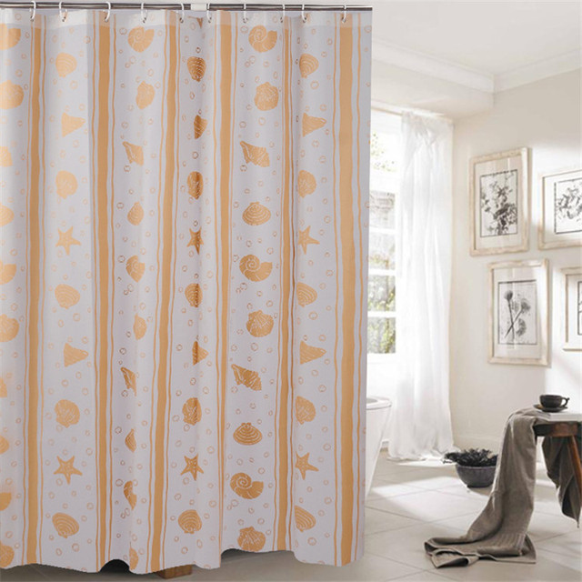 House Shower Curtain for Bath Room Waterproof Bathing Products ...