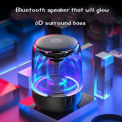 C7 reloj de alarma inalámbrico Bluetooth altavoz con luces LED de colores bestseller Altavoz Bluetooth nuevo