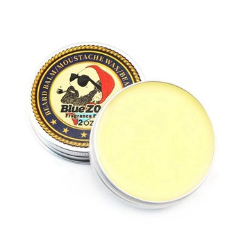 BlueZOO Beard Balm for Men-Encourages Growth-Natural Oil Leave In Conditioner that Soothes Itching, Thickens, Strengthens,Soft 1