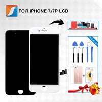 Grado AAA + + + para iPhone 7 7PLUS LCD con Force Touch 3D para Apple 8 8Plus Pantalla de reemplazo sin píxeles muertos|aaa lcd|iphone lcd|touch screen replacement -