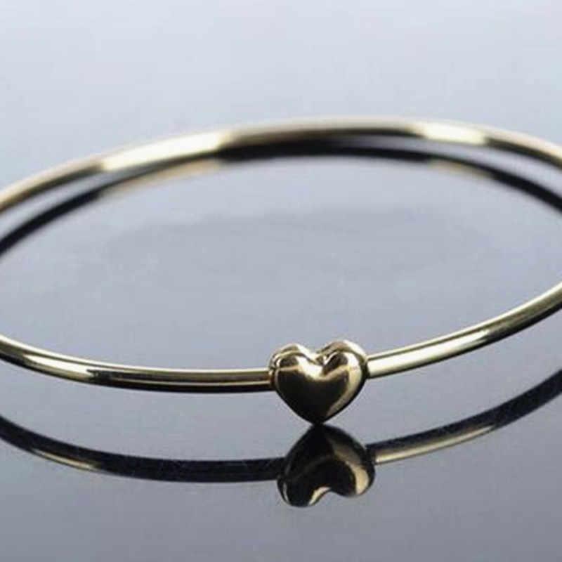 Женские корейские ювелирные изделия Сладкий персик сердце желаний браслет для девушек женщин 4BD04