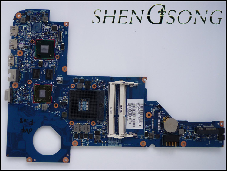 650486-001 for HP DV4-4000 Laptop motherboard for HP Notebook 650486-001 100% Tested and guaranteed in good working condition!! 658544 001 for hp 6465b laptop motherboard fs1 socket 100%full tested ok tested working