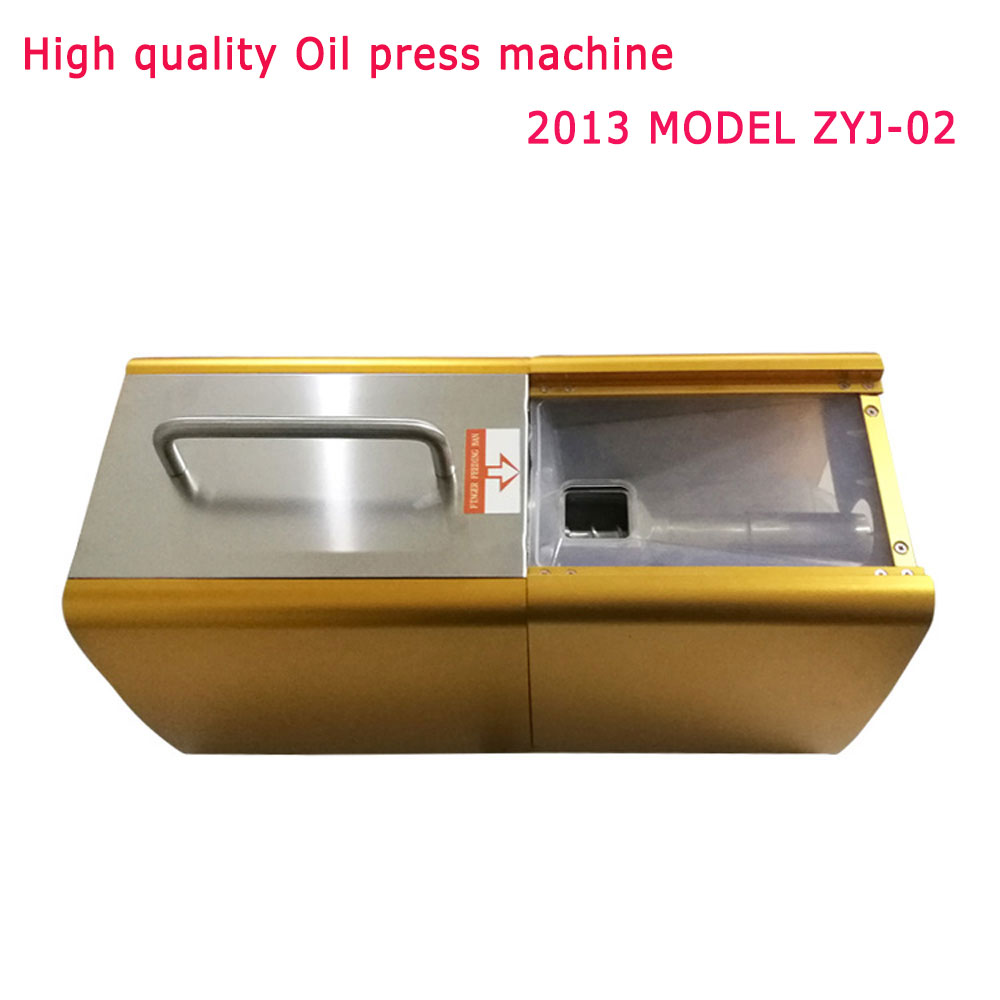 ZYJ-02 NEW Oil press machine Hot and Clod pressing for peanut, soybean, sesame oil making machine High oil extraction rate