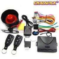 Sistema de alarme de carro Universal com Keyless Entry siren alto anti-ladrão vehicle12V auto acessórios de segurança kia CHADWICK fina 8113