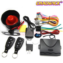 Universal car alarm system with siren loud anti-thief vehicle12V Keyless entry auto security accessories kia thin CHADWICK 8113