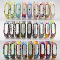 1 piece miband2 xiaomi mi band 2 Colorful Bracelet Silicone Strap replacement wristband strap 32 color available for miband 2