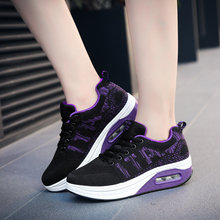 Women Running Shoes Air Black Dark Blue Women Sport Shoes Spring Summe