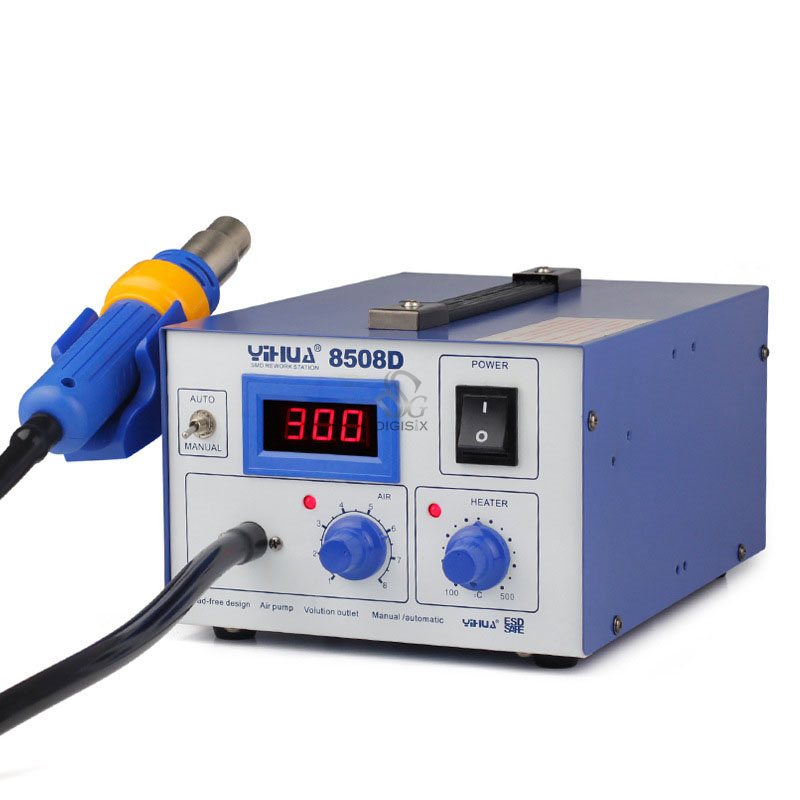 Ferrous- alloy Material 8508D IC / PCB Hot-Air Soldering Station for soldering toolFerrous- alloy Material 8508D IC / PCB Hot-Air Soldering Station for soldering tool
