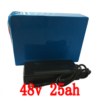 48V 25AH Electric Bike LiFePO4 Battery For 1000W 2000W Motor Electric Wheelchair 1500 Times Cycle Battery