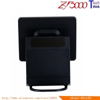 new stock black 15 inch all in one capacitive multi touch screen windows smart pos system