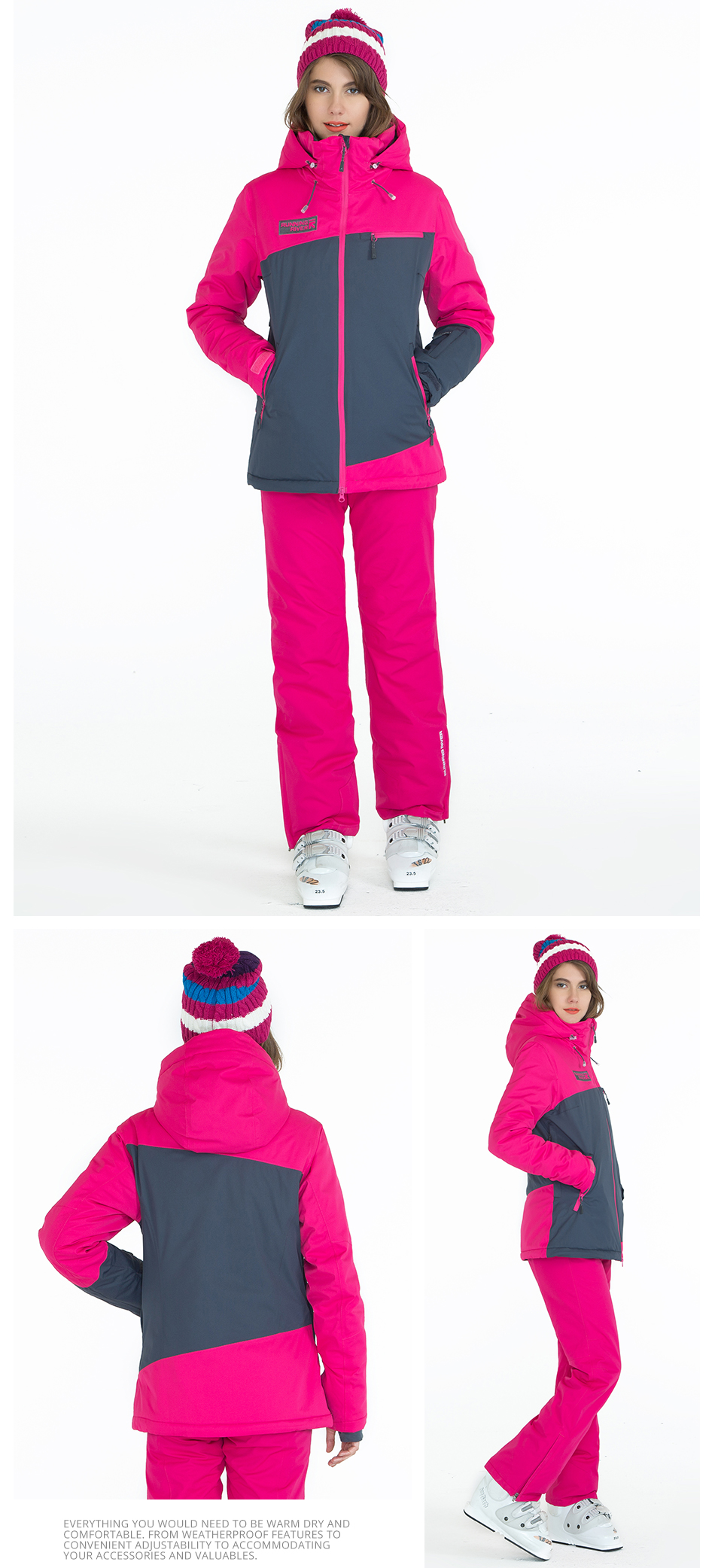 brand ski jacket