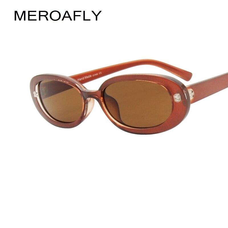 ceeb901edc Gafas De Sol ovaladas pequeñas De marca De diseñador De marca para mujer  Gafas De Sol De moda De verano Gafas femeninas De Sol