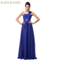 2014 New Arrival Grace Karin Stock One Shoulder Chiffon Prom Gown Formal Party Dresses Women Evening