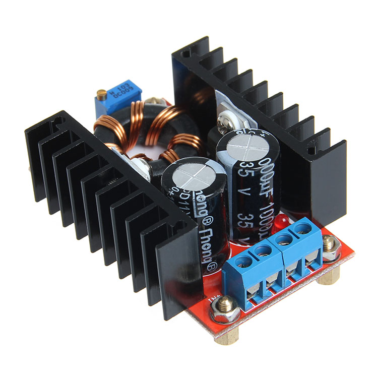 Geeetech 20pcs 150W Boost Converter DC-DC 10-32V to 12-35V Step Up Voltage Charger Module dc dc automatic step up down boost buck converter module 5 32v to 1 25 20v 5a continuous adjustable output voltage