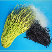 depth 1.5m length 40m-80m 3 layer strong yellow nylon line sticky net fishing squid dip reservoir network